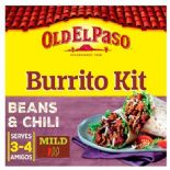 Old El Paso Burrito Dinner Kit 620g
